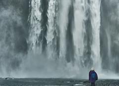 Skógafoss, Iceland. Self-Portrait. (amanecer334) Tags: water waterfall iceland scandinavia nature landscape amazing travel explore icelandic europe journey person girl traveller natural north skogafoss skogar