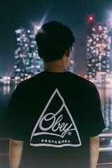 Obey (lucasslei_731) Tags: city beautiful feeling cityscape rokkor50mmf17 minoltalens lr lightroom shooting obey streetwear streetsnap landscape bokeh nightscene marinabaysands singapore