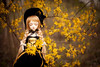 gold rain (koroa) Tags: bjd leekeworld noella bluefairy gothic gold deer lolita doll