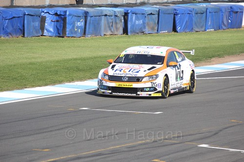 Will Burns during qualifying during the BTCC Weekend at Donington Park 2017: Saturday, 15th April