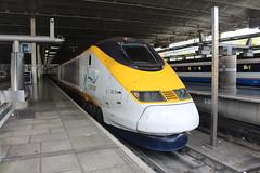 3213 (matty10120) Tags: class 373 eurostar old railway rail train transport e300 tmrs london st pancras international unrefurbished unrefurb