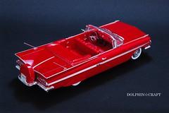 1959 IMPALA 7 (DOLPHIN☆CRAFT) Tags: 1959 chevrolet impala convertible monogram シボレー インパラ コンバーチブル モノグラム プラモデル