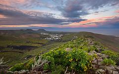 View from Mirador de Haria, Lanzarote Island, Spain (Roman's pixels) Tags: miradordeharia lanzarote canaryislands spain sunset d750 nikon romanspixels landscape volcanic volcanicisland