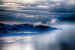Mystic Clouds Over Garda (orkomedix) Tags: canon 6d 24105l lake garda nik hdr clouds water mystic outdoor panoramic view italy