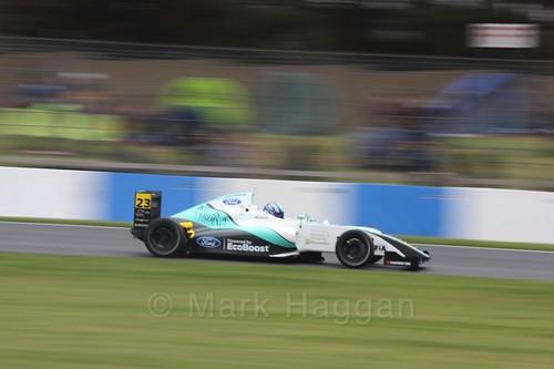 Billy Monger in British Formula Four Race Three at the British Touring Car Championship 2017 at Donington Park