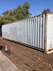40' HC container delivery (containerclad) Tags: containerclad containercladding containerconversion containermodifcations shippingcontainer