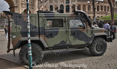 Military Vehicles (ChuckDiesal) Tags: 2017 canon chuckdiesal chuckdiesalphotography chuckdiesalsmugmugcom europe hummer italy military photographer rome seaton seetheworld travel truck vehicle worldtravel worldtraveler youtubecomchuckdiesal