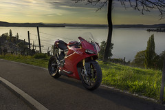 Arenenberg, Salenstein (rockymotard) Tags: ducati panigale 1299s lake constance switzerland arenenberg thurgau bodensee