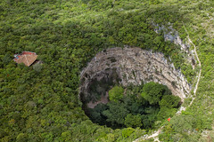 Sima de las Cotorras (Jorge De Silva R) Tags: simadelascotorras foto aerea nature chiapasmexico jorgesilva