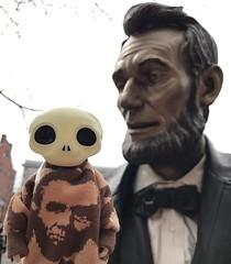 Abraham fan (Kittytoes) Tags: gettysburg lemon studiouoo lampenico basil gaikochu skulltula