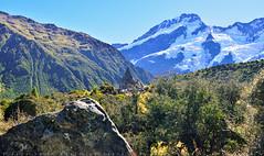 The spectacular peaks (T Ξ Ξ J Ξ) Tags: newzealand aoraki mountcook d750 nikkor teeje nikon2470mmf28 day cook mountain peaks