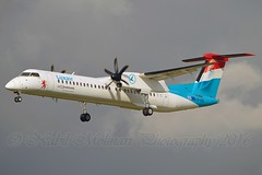 Luxair LX-LQA De Havilland Canada DHC-8-402Q Dash 8 cn/4468 @ LEBL / BCN 07-11-2016 (Nabil Molinari Photography) Tags: luxair lxlqa de havilland canada dhc8402q dash 8 cn4468 lebl bcn 07112016