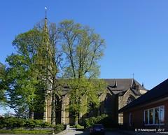 St Lambertus Kirche.  Merzen. (ditmaliepaard) Tags: stlambertuskirche merzen duitsland germany a6000 sony kerk kirche bomen trees