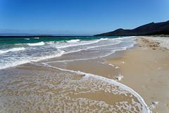 20170414-13-Hazards Beach (Roger T Wong) Tags: 2017 australia freycinet freycinetnationalpark hazardsbeach np nationalpark rogertwong sel2470z sony2470 sonya7ii sonyalpha7ii sonyfe2470mmf4zaosscarlzeissvariotessart sonyilce7m2 tasmania beach bushwalk camp clouds hike ocean outdoors sand sea sky tramp trek walk waves