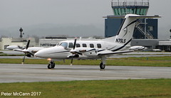 N75LS PA42 Glasgow March 2017 (pmccann54) Tags: n75ls pa42