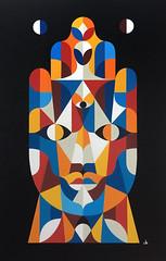 Leil Hamsa. Acrylique sur toile. 145x94cm. 2016