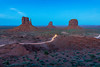 Accident (Amar Raavi) Tags: monumentvalley monumentvalleynavajotribalpark navajonation coloradoplateau tsébii'ndzisgaii valleyoftherocks arizona utah unitedstates mittens night lighttrail traffictrail longexposure themittens outdoors erosion geology nature northamerica dusk