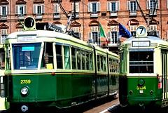 Linea7/Torino (dagherrotipista) Tags: torino tram nikond60 tranvia 7