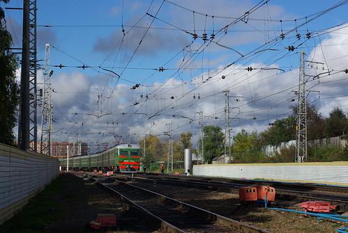 RZD ER2R-7052 Lobnya station