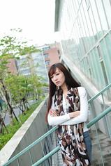 喬喬1011 (Mike (JPG直出~ 這就是我的忍道XD)) Tags: 喬喬 台灣大學 d300 model beauty 外拍 portrait 2013
