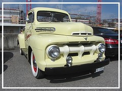 Ford F-1, 1951 (v8dub) Tags: ford f 1 1951 pritsche up pick pickup schweiz suisse switzerland fribourg freiburg otm american pkw voiture car wagen worldcars auto automobile automotive old oldtimer oldcar klassik classic collector