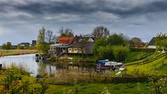 Linge river @ Acquoy