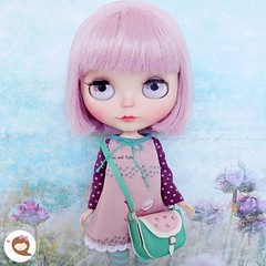 Dalila is looking for a new home. Feel free for message me for more details. 💜  #ninadollface #blythe #neoblythe #dollstagram #instablythe #bigeyes #dollphotography #blythelover #blythefs #customblyhe #blyheforsale #blytheforadoption