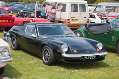 1971 Lotus Europa Twin-cam (Trigger's Retro Road Tests!) Tags: show classic car corner 1971 europa little lotus may essex clacton plough twincam 2013