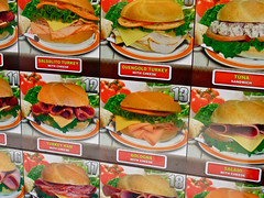 Sandwiches, New York, NY (Robby Virus) Tags: city nyc newyork apple turkey restaurant big harlem manhattan tuna sandwiches salami