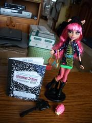 Howleen Wolf 13 Wishes (MyMonsterHighWorld) Tags: monster high wolf doll wishes 13 howleen