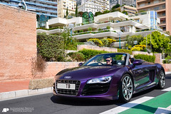 Audi R8 V10 Spyder (Alexandre Prvot) Tags: auto cars car sport automobile european top parking transport automotive voiture montecarlo monaco route exotic marques supercar luxe berline exotics supercars tmm ges dplacement 2013 worldcars 98000 montecarlu topmarquesmonaco grandestsupercars topmarquesmonaco2013