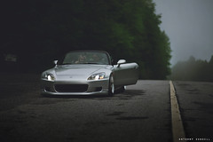 Josh Taylor's S2 (Anthony Sundell Photography) Tags: honda japanese low wheels static s2k s2000 jdm s2 slammed dumped ccw sowo southernworthersee lm5t