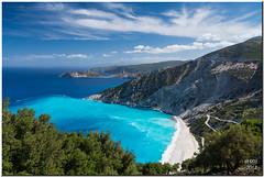 Myrtos Beach - Kefalonia (Maria-H) Tags: beach islands panasonic greece kefalonia myrtos ionian 1235 gh3 divarata dmcgh3 kefaloniaprefecture