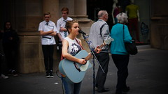 Glasgow Busker (the tartanpodcast) Tags: anna sony shields 50mmf18 nex6