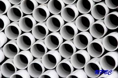 RPBC 377 (richardsphotographybc) Tags: water construction o pipes plumbing tubes gas plastic rings seals heating pvc drainage fittings