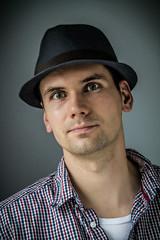 hat portrait (Mirkind) Tags: light portrait man male hat self canon eos hut available selfie 1100d