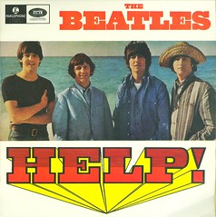 12 - Beatles, The - Help -  EP - Australia - 1980s ReRelease (Affendaddy) Tags: thebeatles extendedplay vinylsingles collectionklaushiltscher fourtracksingles 1960sukbeat