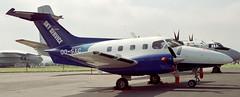 Xingu Sky Service Fairford 97 (joolsgriff) Tags: 1997 xingu embraer fairford riat skyservice riat97