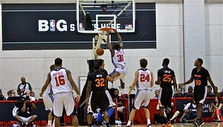 Chris Singleton Dunk - 2013 NBA Summer League