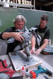 Spectral Motion 環太平洋 電影相關道具製作