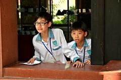 Beltei Field Trip (Pedestrian Photographer) Tags: trip school boy boys field june museum kids children kid cambodian khmer institute international national phnom penh 2013 dsc7118 dsc7118jpg beltei