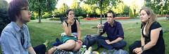 Regents Park, London (DG Jones) Tags: park panorama london tom dave picnic becky carmen regentspark centrallondon royalpark davidwilliams cityofwestminster beckygilmore carmenholdsworthdelgado