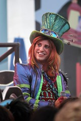 Mad T Party (Visions Fantastic) Tags: liveband dca madhatter aliceinwonderland cheshirecat dormouse hollywoodbacklot themadhatter disney'scaliforniaadventure madtparty madtpartyband