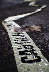 Thrown To The Wind (Cold417) Tags: noir police scene eerie creepy tape crime caution