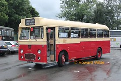 Preserved PMT 805 EVT (SelmerOrSelnec) Tags: preserved pops weymann reliance aec pmt runningday potteriesmotortraction foxfieldrailway 805evt