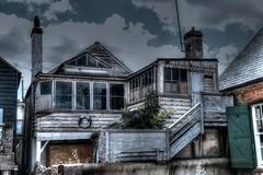 Abandoned (nigel@hornchurch) Tags: beach lumix kent property panasonic g3 whitstable photomatrix p1020379