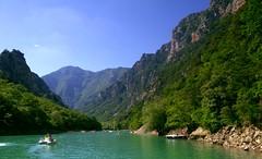 Gorge Du Verdon (_berteh) Tags: blue trees sky cliff water pentax sigma canyon gorge