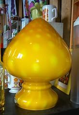 Lamp Rosdal glasbruk Sweden (Ankar60) Tags: glass lamp yellow vintage design sweden interior swedish smland 70s lampa sverige 1970s seventies 70 glas gul nostalgi tal svensk interir 197 glasbruk glasriket inredning svenskt rosdala