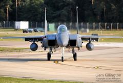 McDonnell Douglas F-15E 91-0324 LN RAF Lakenheath (liam.killington) Tags: nikon aircraft aviation military nikkor douglas mcdonnell ln d300 f15e fastjet raflakenheath 910324