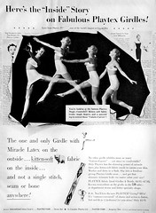 68 1954 (Undie-clared) Tags: girdle playtex fablined